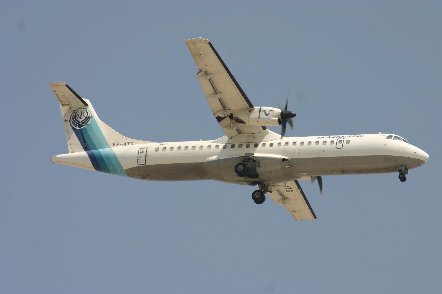 Iran Aseman Airlines Flight 3704